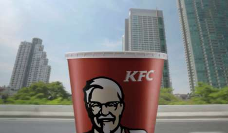 Limited-Edition Fast Food Branding - KFC Thailand Released Packaging to Celebrate Its Delivery Speed