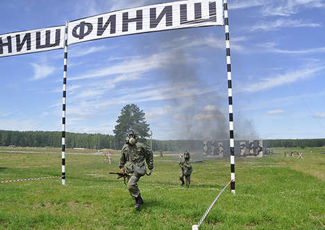 International Military Competitions - The 'International Army Games' are Russia's Answer to Rio 2016