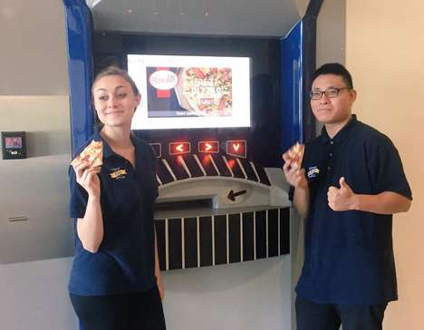 Fresh Pizza Vending Machines - This Pizza ATM is Designed to Satisfy Late-Night Cravings