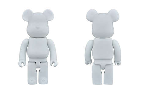 Faceless Porcelain Bears - Medicom's Handmaid Porcelain Collectibles are Its Most Simple Yet
