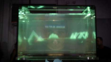 "Holographic 3D Displays - The 'Volume' Display by Looking Glass Uses ""Lightfolding"" Technology"