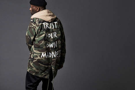 Grungy Military Streetwear - Magic Sticks' Fall/Winter Collection Fuses Retro and Contemporary Style