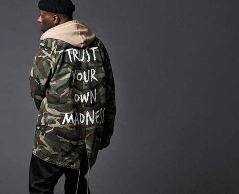 Grungy Military Streetwear