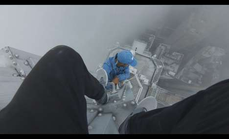 Urban Explorer Photography - This Video Shows Explorers in Dangerous Situations for the Perfect Shot