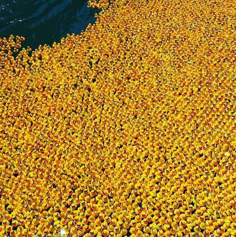 Rubber Duck Races - The 'Windy City Rubber Ducky Derby' Fundraises for the Special Olympics Illinois