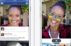 Selfie-Focused Social Feeds - Facebook's New Feed Features an Olympic-Themed Camera as its Focus