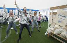 On-Site Festival Laundromats - Appliance Maker Indesit Washed 200 Loads of Laundry at Camp Bestival
