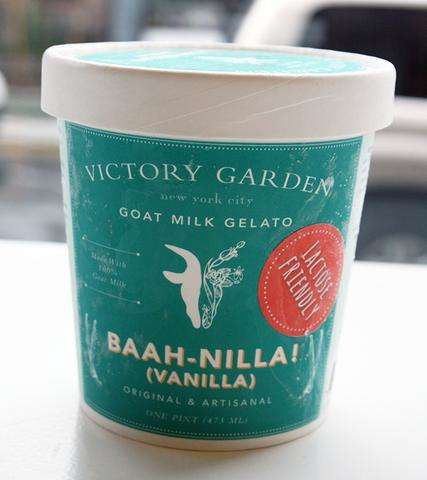 Goat-Inspired Gelatos - This 'BAAH-NILLA!' Creamy Gelato is Made with a Base of Goat's Milk
