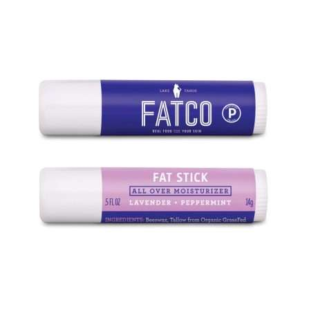 Multipurpose Balm Sticks - FATCO's 'Fat Stick' Can Works as a Lip Balm, Cuticle Repair and Lotion