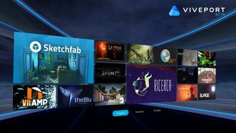 VR App Stores - The Viveport Store Will Focus On HTC's Virtual Reality Offerings