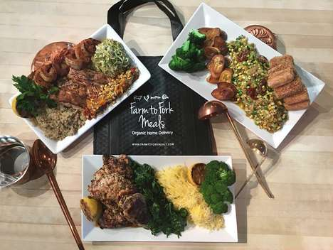 Made-to-Order Organic Meals - 'Farm to Fork' Specializes in Organic Home Food Deliveries