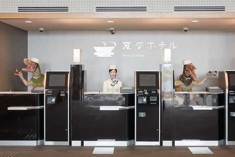 Robot-Operated Hotels - The 'Henn na Hotel' Will Be a New Addition to the Tokyo Disney Resort