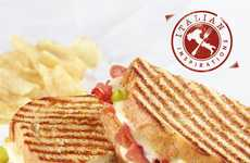 Italian-Inspired Sandwich Menus - The Corner Bakery Cafe's New Menu Features Fresh Italian Toppings