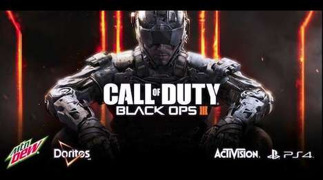 Gamer Snack Packaging - Mountain Dew and Doritos' Promotion is Targeted Towards 'Call of Duty' Fans