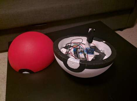 Anime Game Trackers - The Pokéball is a DIY Pokémon Tracker for Pokémon Go Players