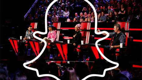 Realty Show Partnerships - 'The Voice on Snapchat' Has Show Coaches Help Fans Improve on Singing