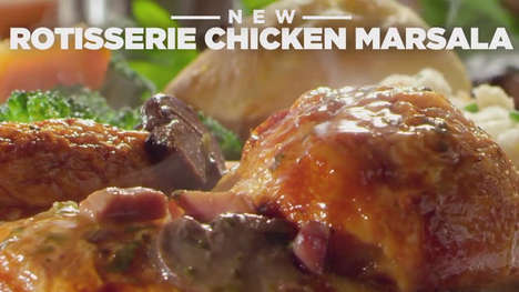 Italian-Inspired Chicken Dinners - Boston Market's Newest Dish Features an Italian-American Twist