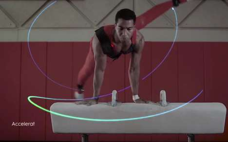 Olympic Biometric Sensors - General Electric Helps Olympians Improve Training with Biometric Sensors