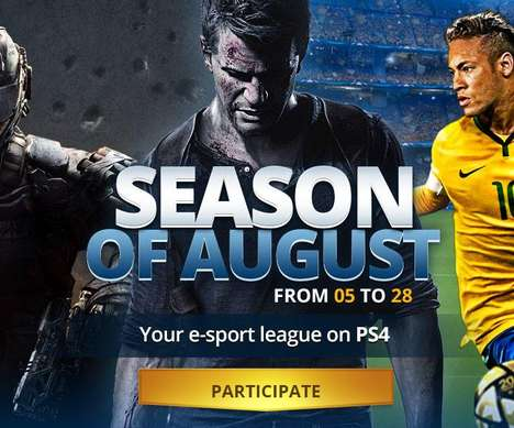 Versatile Online Game Leagues - The PlayStation Plus League Offers Competitors Many Gaming Facets