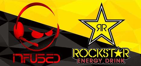 Energetic eSports Sponsorships - Rockstar Energy is the Official Drinks Partner for Team Infused