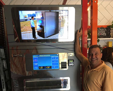 Baguette Vending Machines