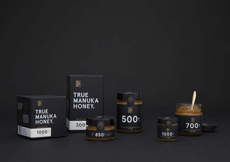 Somber Honey Branding - This Manuka Honey is Packaged in a Highly Secure Box