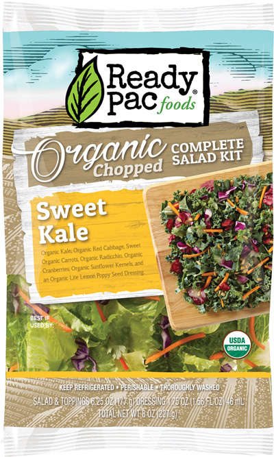 All-In-One Salad Kits - The Organic Chopped Salad Kits Make It Easier to Prepare a Healthy Salad