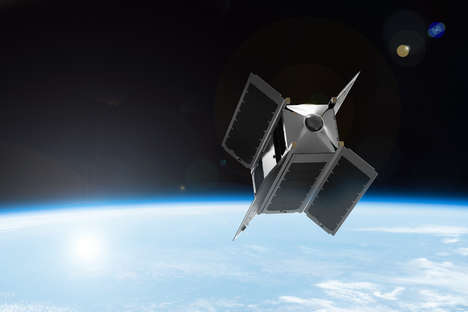 Virtual Reality Satellite Cameras - 'SpaceVR' Aims to Livestream 360 Degree Footage from Space