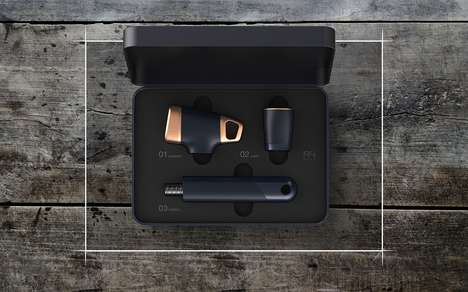 Modular Tool Kits - The 'A4 Tool Kit' is Both a Flashlight and a Hammer