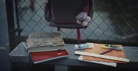 Realistic Back-to-School Ads - The New Staples Ad Deals with Kids Destroying Their School Supplies