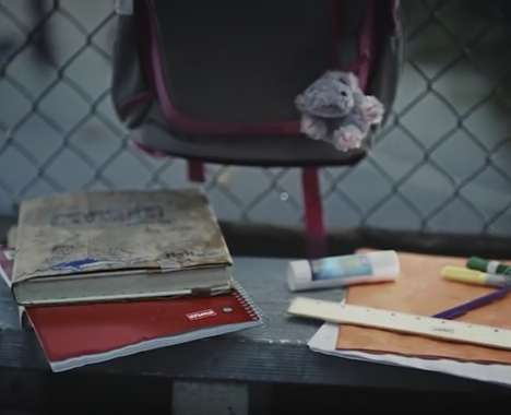 Realistic Back-to-School Ads