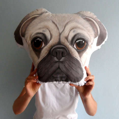 Customized Pet Pillows - These Customized Pillows are Inspired by People's Furry Friends