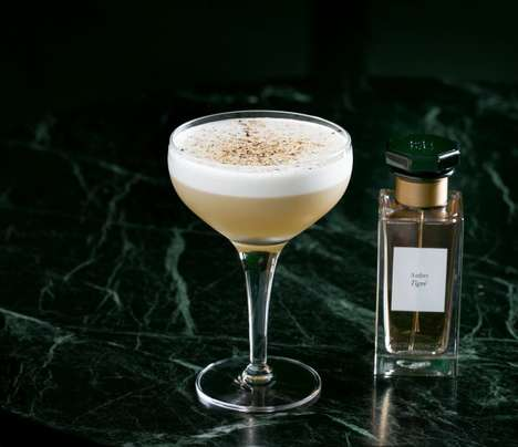 Couture Aromatic Cocktails - Café Royal Offers Luxury Drinks Inspired By Givenchy's Perfume