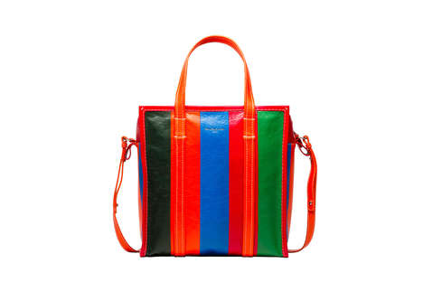$2000 Laundry Bags - Balenciaga's 'Bazar' Collection Transforms Shopping and Laundry Bags
