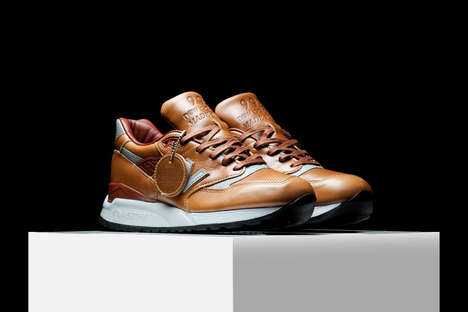 Premium Leather Sneakers - These Leather Shoes Have a Sophisticated Design