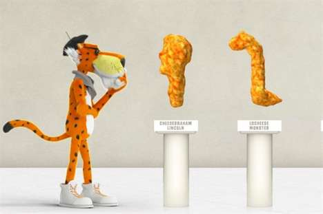 "Artful Snack Campaigns - A New Cheetos Snack Contest Challenges Consumers to Identify ""Art Pieces"""