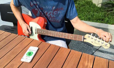 Ear-Training Tuning Apps - 'Fender Tune' is Both a Standard Tuning App and an Ear Training Tool