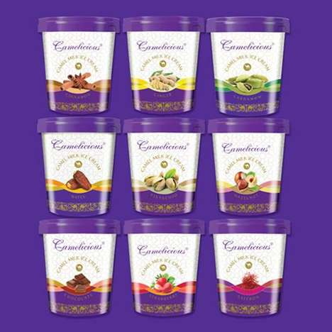 Camel's Milk Desserts - Camelicious Specializes in Making Products with Milk from a Camel