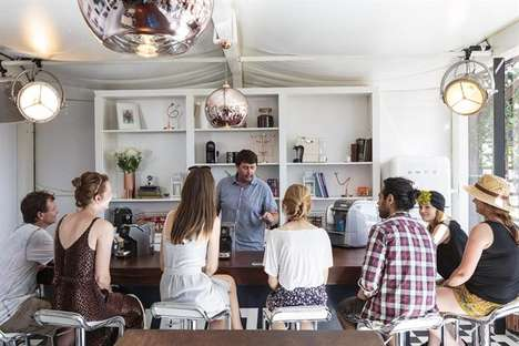 Festival Tent Cafes - This Lavazza Shop Shares Barista-Made Coffee at a Festival