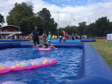 Waterpark Obstacle Courses - RNLI's 'Splashfest' Featured a Water-Themed Outdoor Obstacle Course