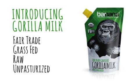 17 Alternative Animal Milk Products - From Camel Milk Chocolates to Gorilla Milk Beverages