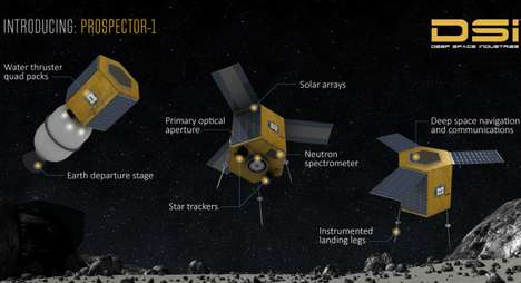 Asteroid Mining Missions - 'Deep Space Industries' Will Harvest Minerals and Metals from Asteroids