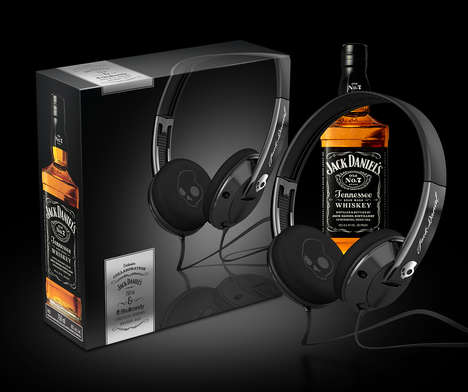 Whiskey Brand Headphones - Skullcandy and Jack Daniel's Created Special-Edition Headphones