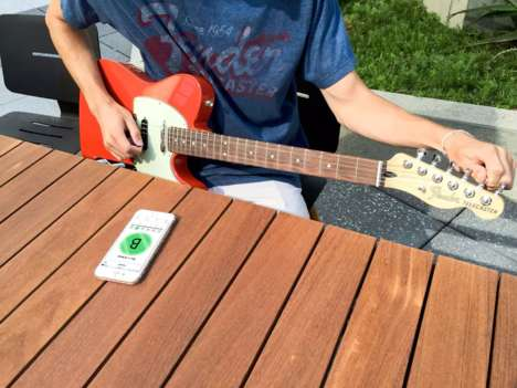 Guitar-Tuning Apps - The Fender Tune App Helps Players Stay in Tune and On Point