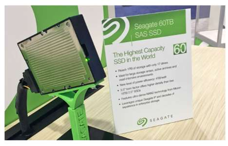 Enormous Storage Drives - This Seagate Solid-State Drive Offers a Ridiculous 60 Terabytes of Storage