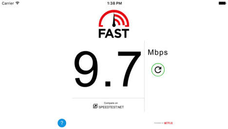 Internet Speed-Testing Apps - Netflix's Speed Test App Helps You Assess Your Device's Connectivity