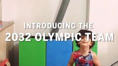 Future Olympian Ads - This 'Fatherly' Ad Shows Kids with Incredible Talent and Supportive Parents