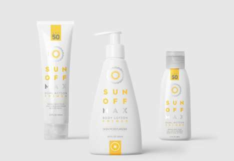 Sun Protection Skincare Lines - The Packaging of These Protective Sun Lotions Reflect Their Purpose