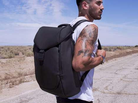 Sleek Ergonomic Backpacks - 'Keep Pursuing''s 'Zero-G' is Incredibly Durable & Comfortable to Wear