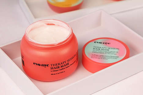 Therapeutic Hair Masks - EVA NYC's Moisturizing Hair Mask Works to Deep-Condition Dry Locks